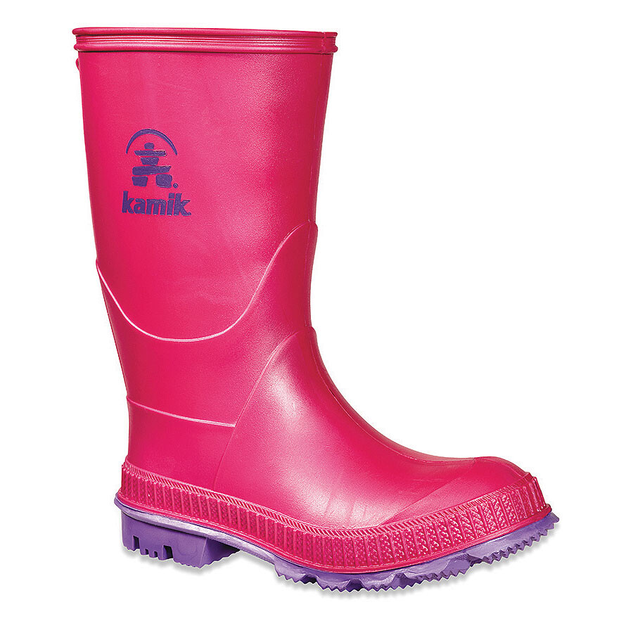 Kamik Stomp - Botas de agua Niños - rosa/rojo 23 2015 Botas de Agua qSObP4pJH
